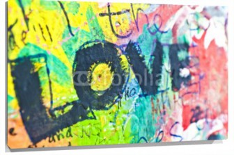 Miniatura Graffity muro love